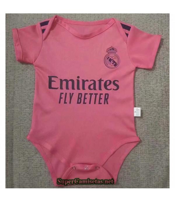 Tailandia Segunda Equipacion Camiseta Real Madrid Bebé 2020