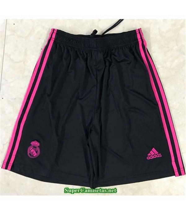 Tailandia Segunda Equipacion Camiseta Real Madrid Pantalones 2020/21
