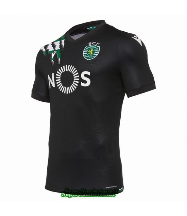 Tailandia Segunda Equipacion Camiseta Sporting Cp 2020