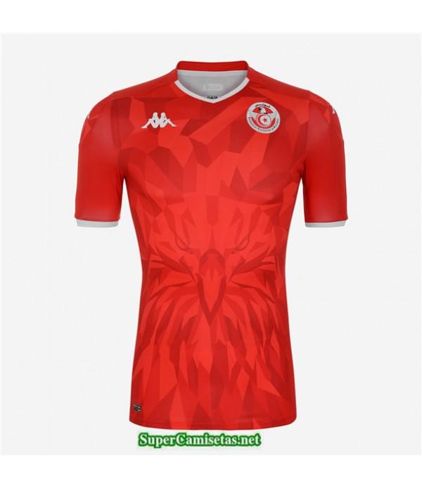 Tailandia Segunda Equipacion Camiseta Túnez Rojo 2020