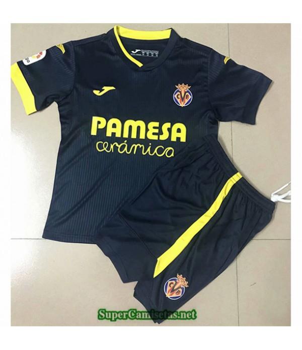 Tailandia Segunda Equipacion Camiseta Villarreal Niños 2020