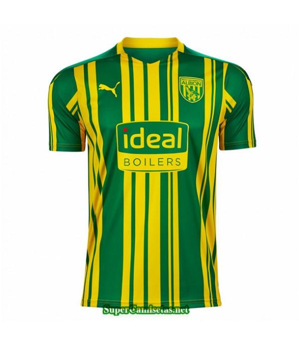 Tailandia Segunda Equipacion Camiseta West Bromwich Albion 2020
