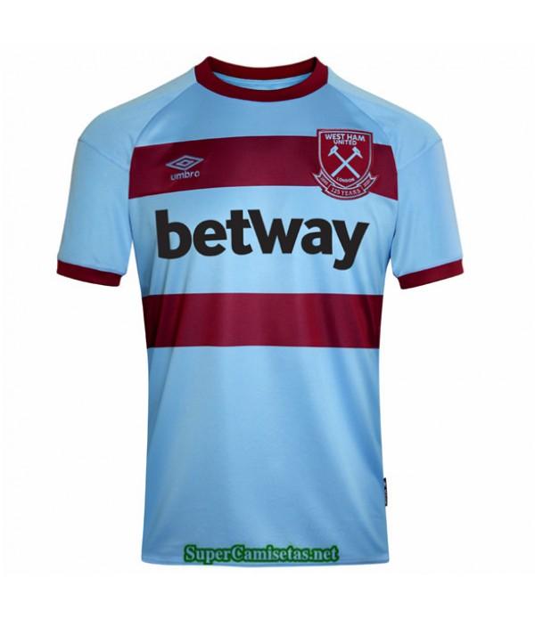 Tailandia Segunda Equipacion Camiseta West Ham United 2020