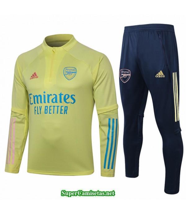Tailandia Survetement Arsenal Amarillo 2020