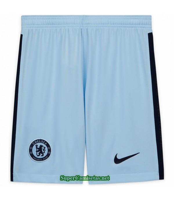Tailandia Tercera Equipacion Camiseta Chelsea Pantalones 2020/21