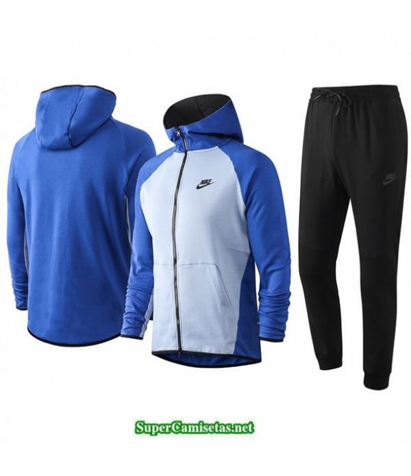 Tailandia Veste Sudaderas De Futbol Nike Azul Claro/azul 2020