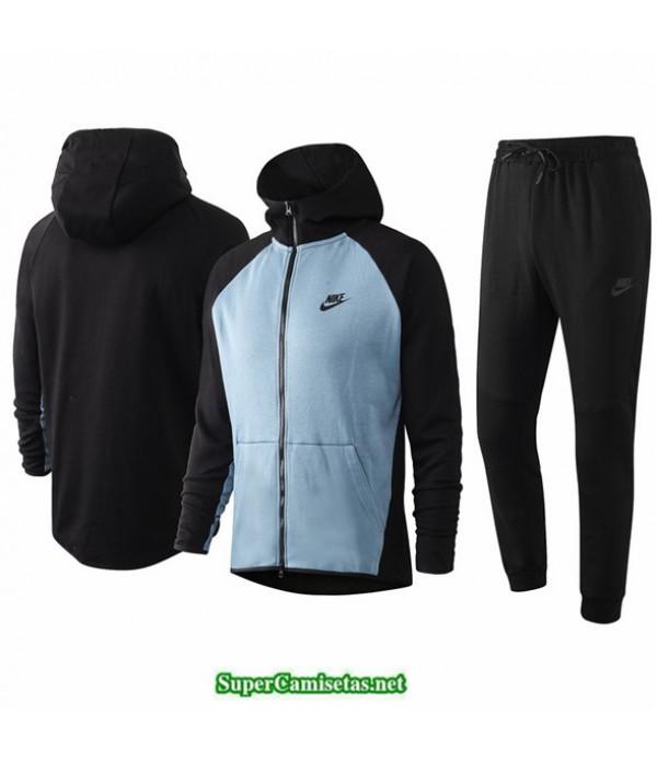 Tailandia Veste Sudaderas De Futbol Nike Azul Claro/negro 2020