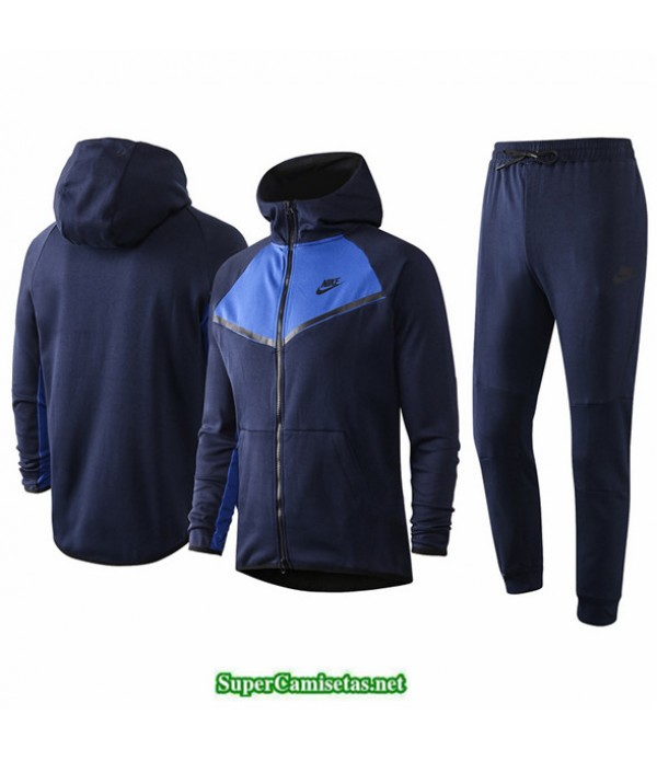Tailandia Veste Sudaderas De Futbol Nike Azul Oscuro/azul 2020