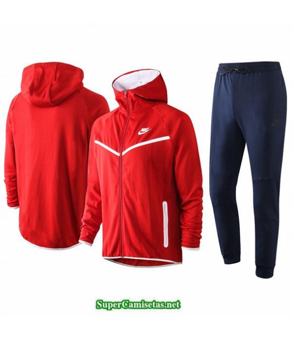 Tailandia Veste Sudaderas De Futbol Nike Rojo 2020