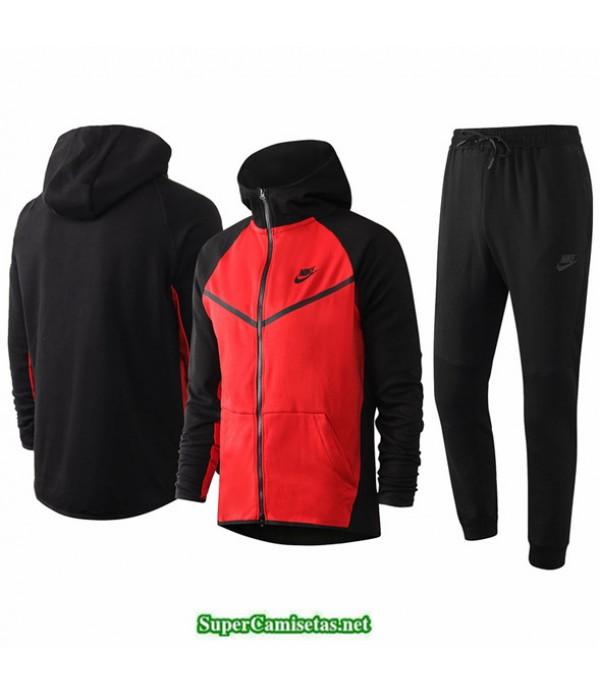 Tailandia Veste Sudaderas De Futbol Nike Rojo/negro 2020