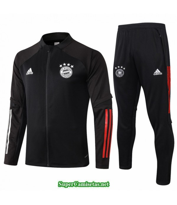 Tailandia Veste Survetement Bayern Munich Negro 2020