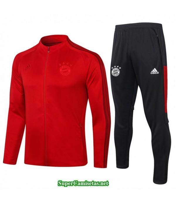 Tailandia Veste Survetement Bayern Munich Rojo 2020