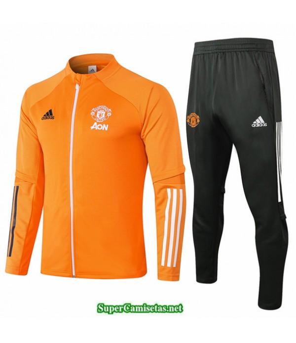 Tailandia Veste Survetement Manchester United Naranja 2020