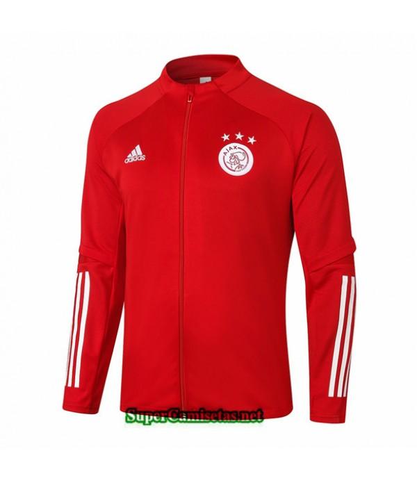 Tailandia Camiseta Afc Ajax Chaqueta Rojo 2020/21