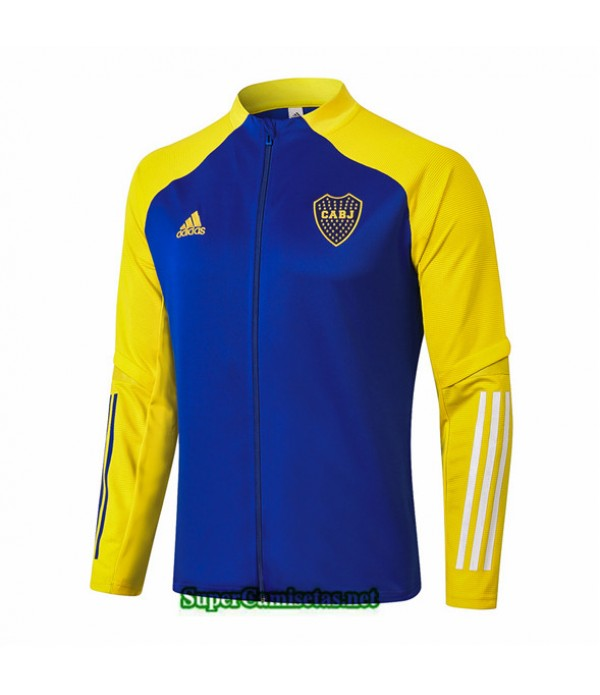 Tailandia Camiseta Boca Juniors Chaqueta Azul/amarillo 2020/21