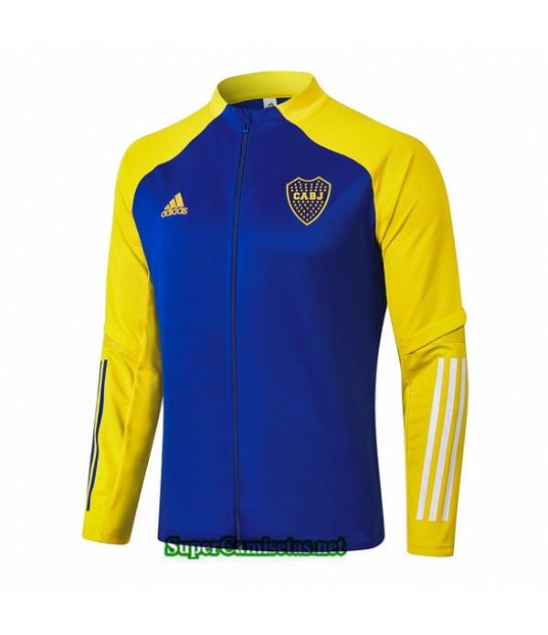 Tailandia Camiseta Boca Juniors Chaqueta Azul Amarillo 2020/21