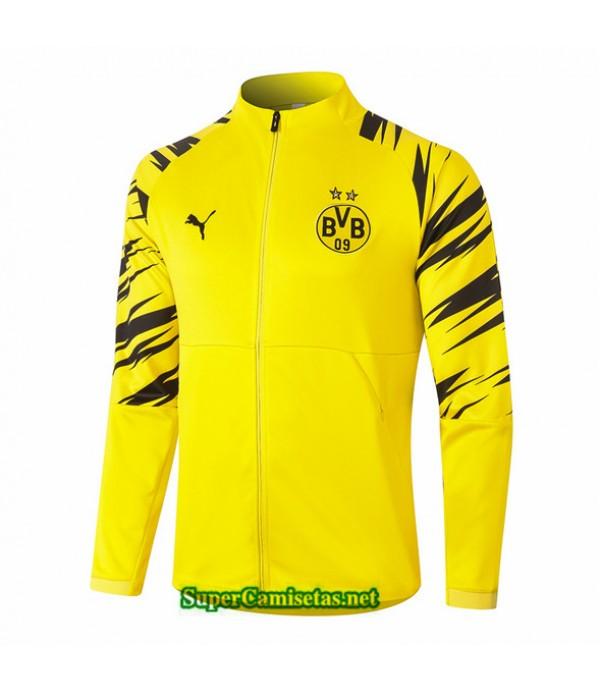 Tailandia Camiseta Borussia Dortmund Chaqueta Amarillo 2020/21