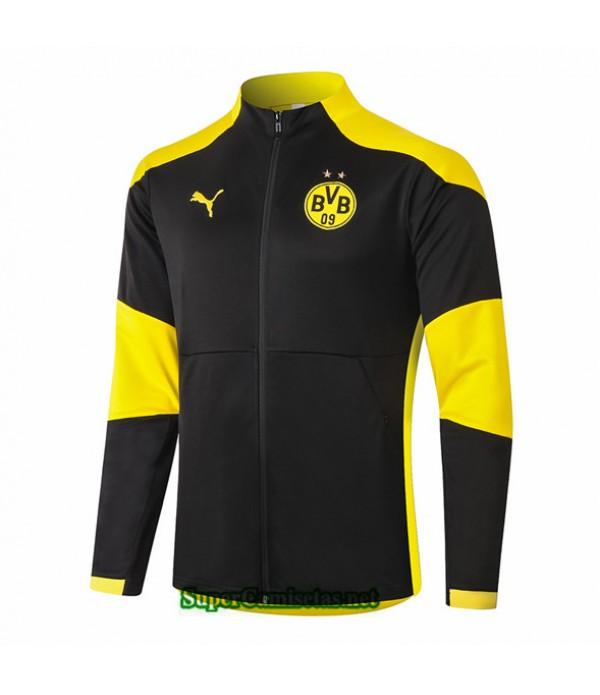 Tailandia Camiseta Borussia Dortmund Chaqueta Negro 2020/21