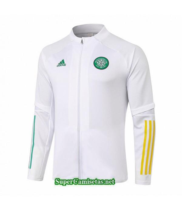 Tailandia Camiseta Celtic Chaqueta Blanco 2020/21