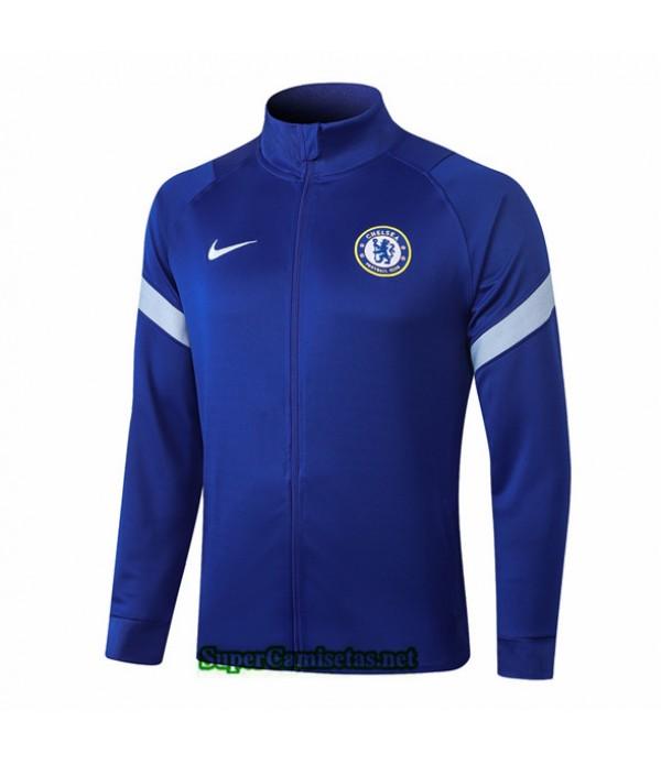 Tailandia Camiseta Chelsea Chaqueta Azul 2020/21