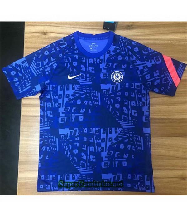 Tailandia Camiseta Chelsea Training Azul 2020/21