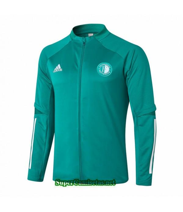 Tailandia Camiseta Feyenoord Chaqueta Verde 2020/21