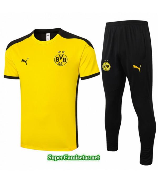 Tailandia Camiseta Kit De Entrenamiento Borussia Dortmund Amarillo 2020/21