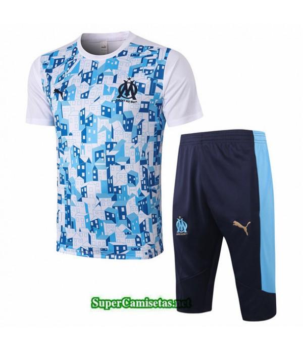 Tailandia Camiseta Kit De Entrenamiento Marsella 3/4 Blanco 2020/21