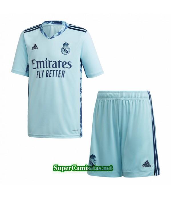 Tailandia Camiseta Real Madrid Azul Niños 2020/21