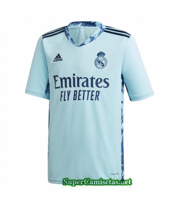 Tailandia Camiseta Real Madrid Portero Azul 2020/2...
