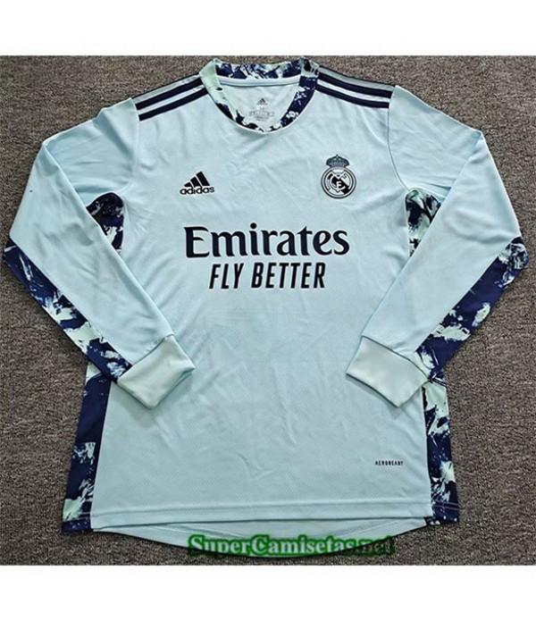 Tailandia Camiseta Real Madrid Portero Manga Larga...