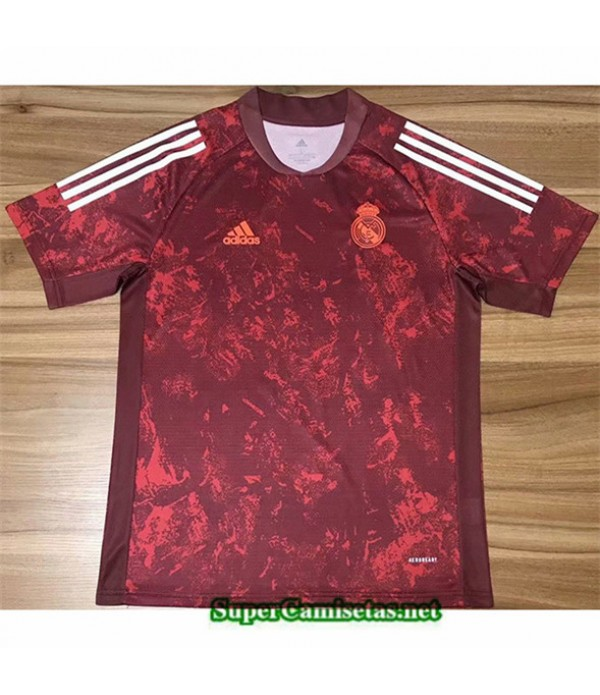 Tailandia Camiseta Real Madrid Training Rojo 2020/...