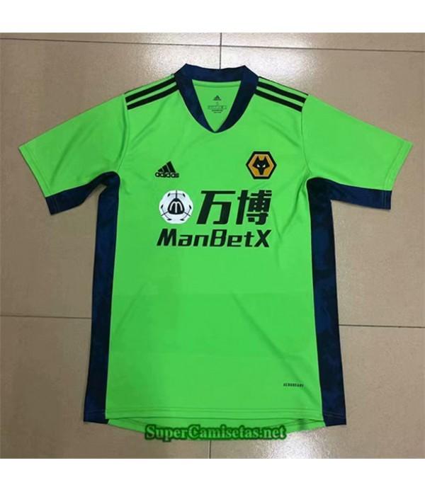Tailandia Camiseta Wolverhampton Verde 2020/21