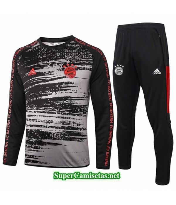 Tailandia Chandal Bayern Munich Negro/gris 2020/21