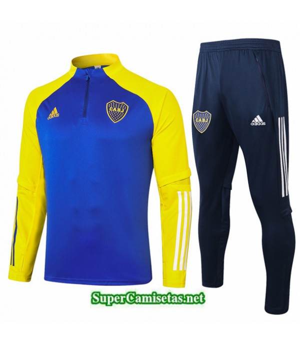 Tailandia Chandal Boca Juniors Azul Marino/amarillo 2020/21