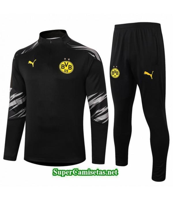 Tailandia Chandal Borussia Dortmund Negro 2020/21