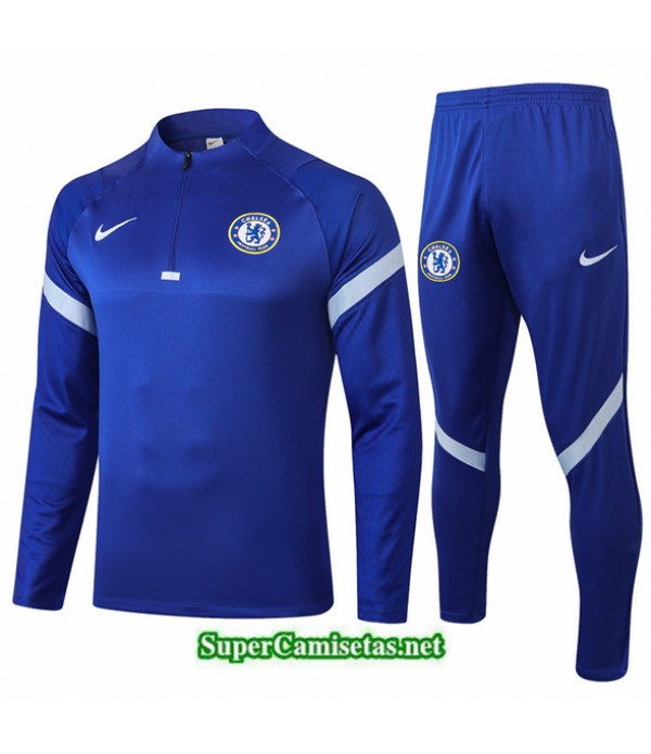 Tailandia Chandal Chelsea Azul 2020/21