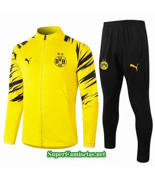 Tailandia Chaqueta Chandal Borussia Dortmund Amarillo 2020/21