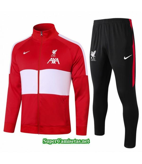 Tailandia Chaqueta Chandal Liverpool Rojo/blanco 2020/21