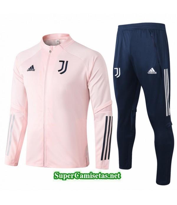Tailandia Chaqueta Chandal Niños Juventus Rosa 2020/21