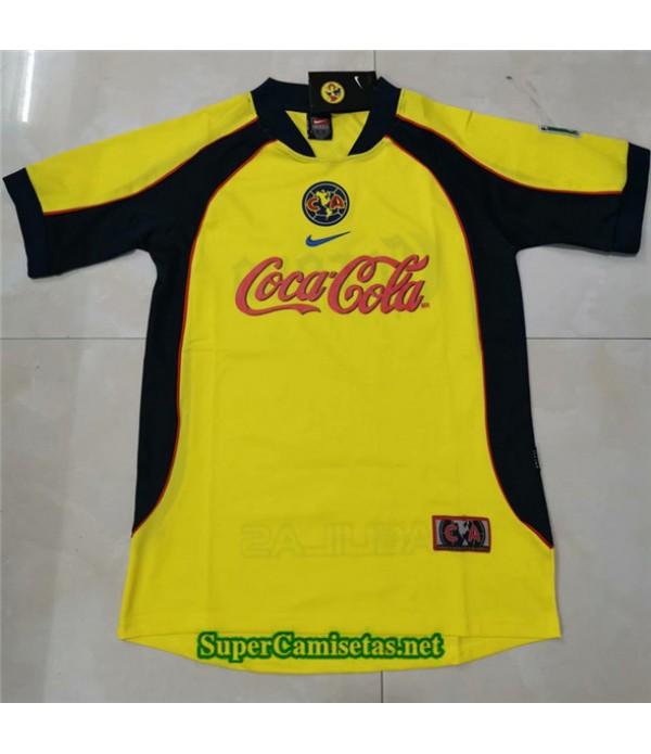 Tailandia Clasicas Cf America Amarillo Hombre 2001 02