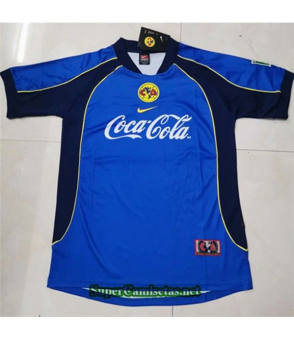Tailandia Clasicas Cf America Azul Hombre 2001 02