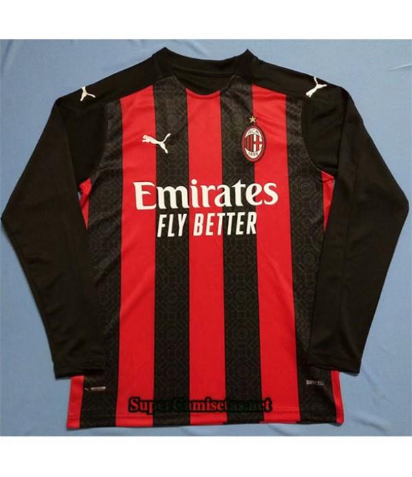 Tailandia Primera Equipacion Camiseta Ac Milan Man...