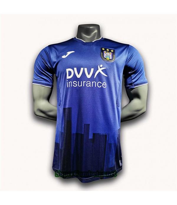 Tailandia Primera Equipacion Camiseta Anderlecht 2020/21