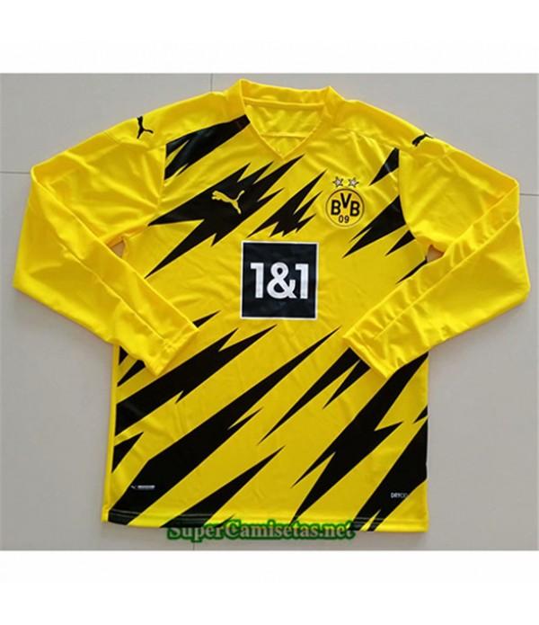 Tailandia Primera Equipacion Camiseta Borussia Dortmund Manga Larga 2020/21