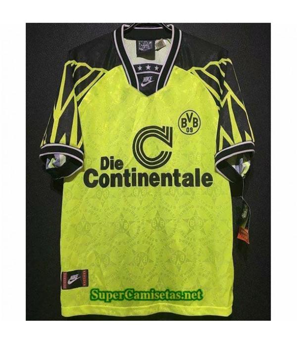 Tailandia Primera Equipacion Camiseta Clasicas Borussia Dortmund Hombre 1994 95