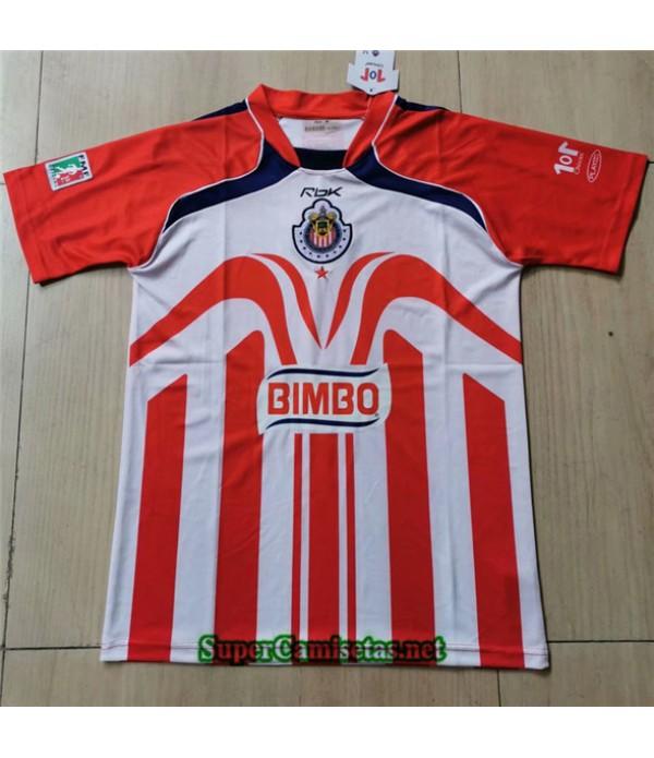 Tailandia Primera Equipacion Camiseta Clasicas Chivas Regal Hombre 2006 07