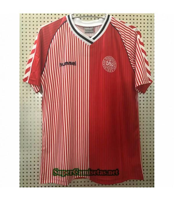 Tailandia Primera Equipacion Camiseta Clasicas Dinamarca Hombre 1986