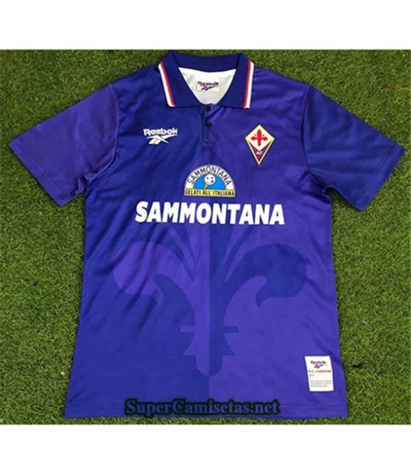 Tailandia Primera Equipacion Camiseta Clasicas Fiorentina Hombre 1995 96