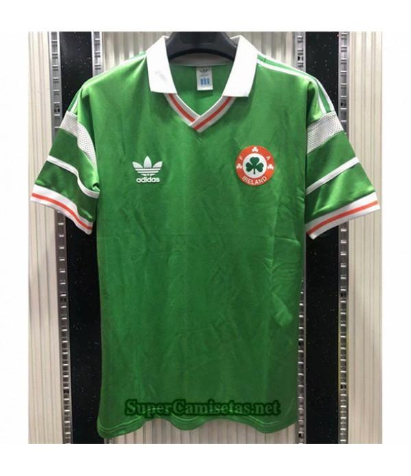 Tailandia Primera Equipacion Camiseta Clasicas Irlanda Hombre 1988 90